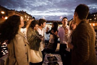 Apero flottant 1h entre amis sur la Seine