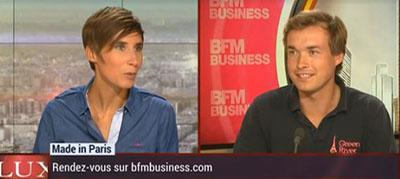 Evrard sur BFMTV